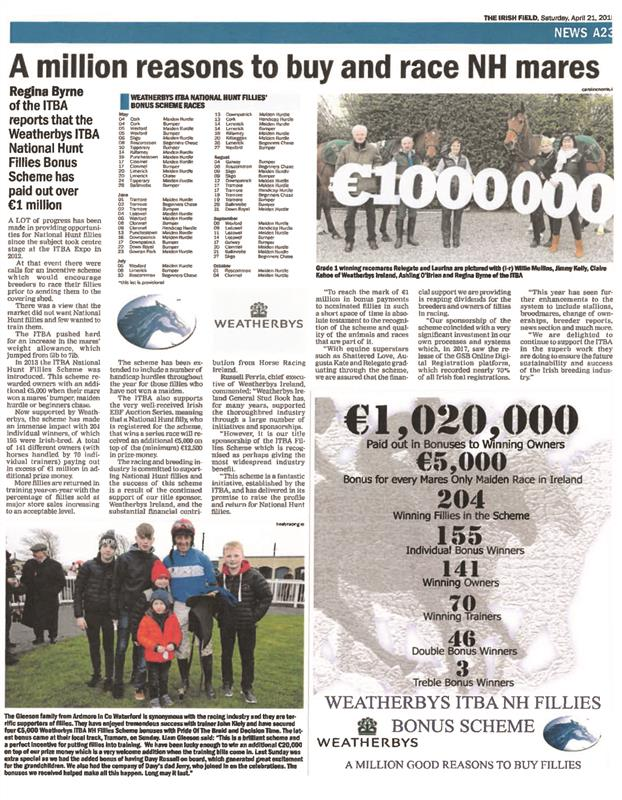 National Hunt Fillies Bonus Scheme