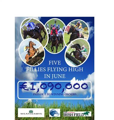 National Hunt Fillies Bonus Scheme Winners for June