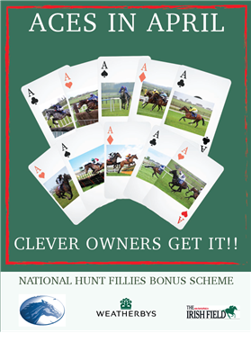 ITBA & Weatherbys National Hunt Fillies Bonus Scheme Winners for April