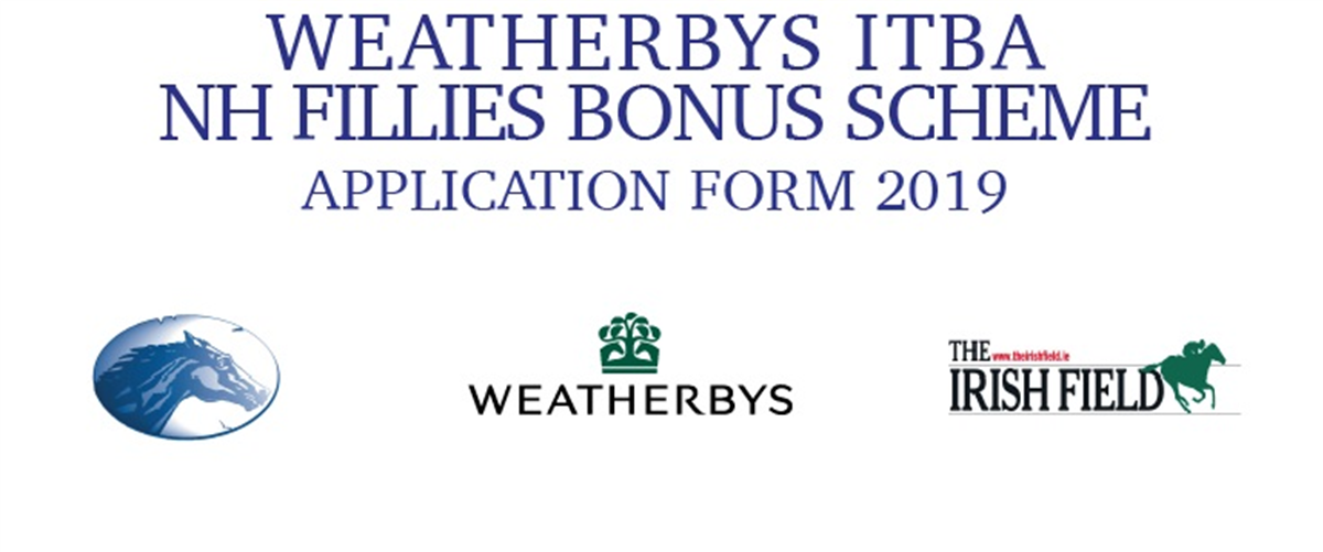 Weatherbys ITBA NH Fillies Bonus Scheme - Application Form