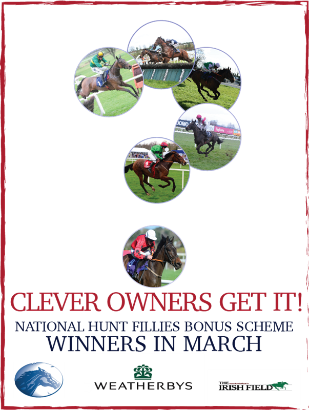 National Hunt Fillies Bonus Scheme March Winners