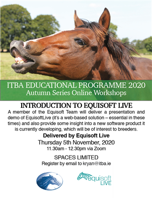 ITBA Autumn Series Workshops-Introduction to Equisoft live