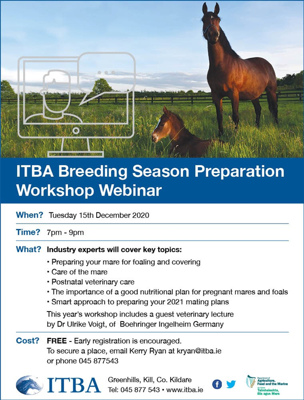 ITBA Breeding Season Preparation Workshop 2020