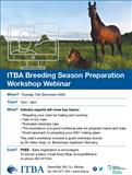 ITBA Breeding Season Preparation Workshop 2020
