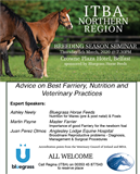 ITBA Northern Region FREE Breeding Season Seminar