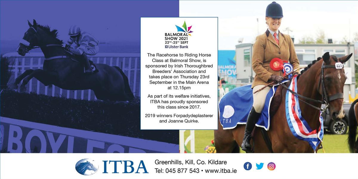 ITBA Sponsoring at Balmoral Show 2021