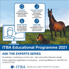 ITBA Educational Programme 2021 - Ask The Experts Series